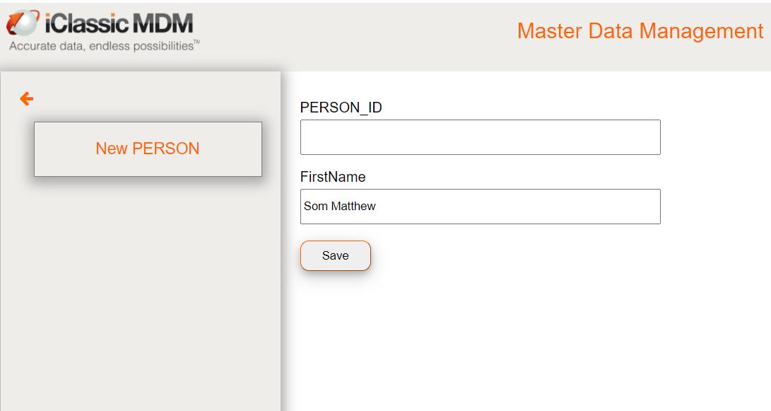 add new person sam matt