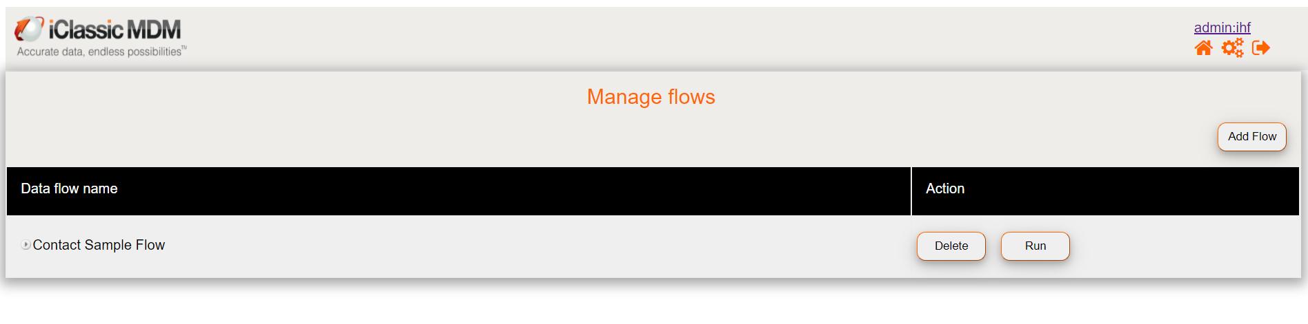 Data flow pipeline